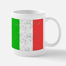 Italy Flag (Distressed) Mugs