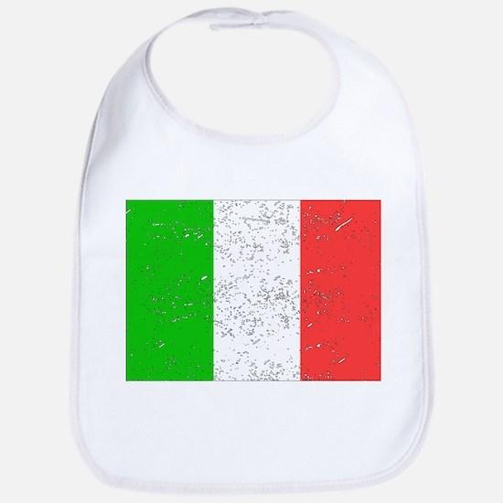 Italy Flag (Distressed) Bib