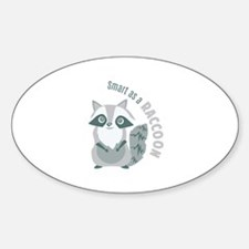 Smart Raccoon Decal