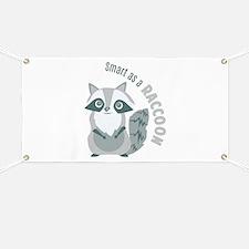 Smart Raccoon Banner