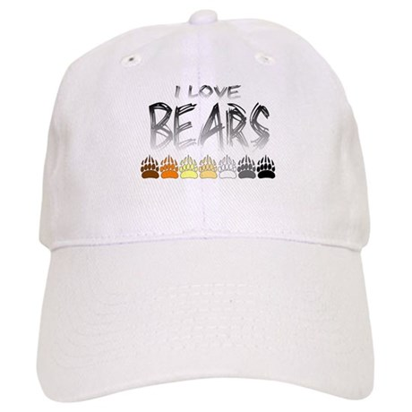 I Love Bears Cap