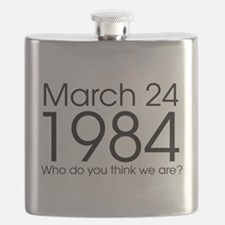 Breakfast Club 1984 Flask