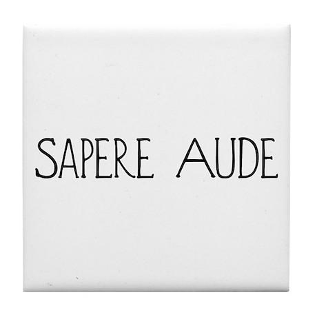 Sapere Aude Tile Coaster
