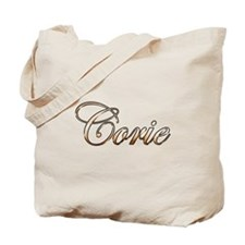 Gold Corie Tote Bag