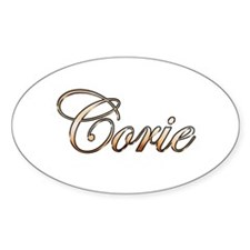 Gold Corie Decal