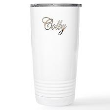 Gold Colby Travel Mug