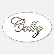 Gold Colby Decal