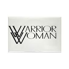 Warrior Woman Rectangle Magnet