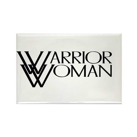 Warrior Woman Rectangle Magnet