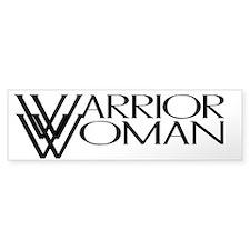 Warrior Woman Bumper Bumper Stickers