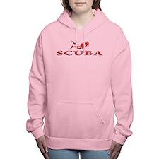 SCUBA Dive Women's Hooded Sweatshirt