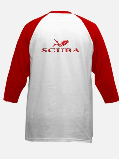 SCUBA Dive Kids Baseball Jersey