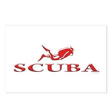 SCUBA Dive Postcards (Package of 8)