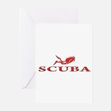 SCUBA Dive Greeting Cards (Pk of 20)