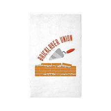 Bricklayer Union Area Rug
