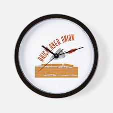 Bricklayer Union Wall Clock