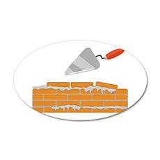 Brick Wall Wall Decal