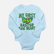 My 1st Easter Egg Hunt Long Sleeve Infant Bodysuit