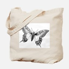 Butterfly Vintage Tote Bag