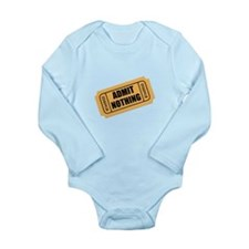 Admit Nothing Ticket Body Suit