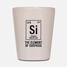The Spanish Element Shot Glass
