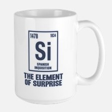 The Spanish Element Large Mug