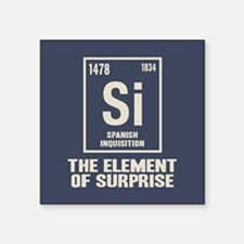 "The Spanish Element Square Sticker 3"" x 3"""