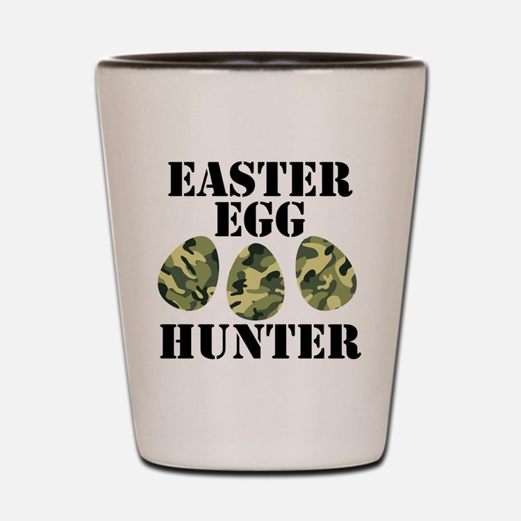 Easter Egg Hunter Shot Glass
