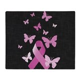 Breast cancer Fleece Blankets