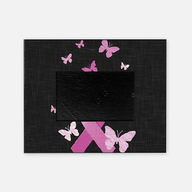 Pink Awareness Ribbon Picture Frame