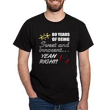 Cute 80th Birthday Humor T-Shirt