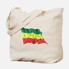 Ethiopia Flag (Distressed) Tote Bag