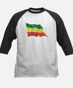 Ethiopia Flag (Distressed) Baseball Jersey