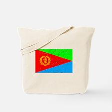 Eritrea Flag (Distressed) Tote Bag