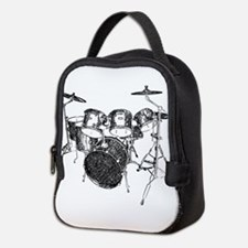 Drums Neoprene Lunch Bag