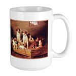 FOXHOUNDS & TERRIER Large Mug
