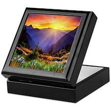 Country Sunrise Keepsake Box