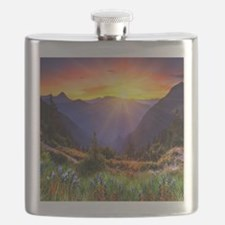 Country Sunrise Flask