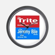The Trite Stuff, The Jeremy Bile Show Wall Clock