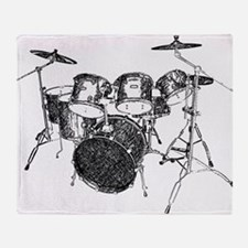 Drums Throw Blanket