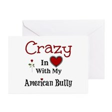 American Bully Greeting Cards