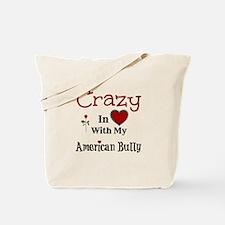 American Bully Tote Bag