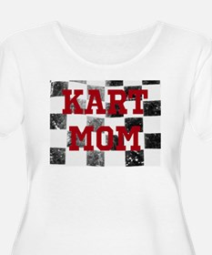 Kart Mom Plus Size T-Shirt
