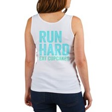 Run Hard Eat Cupcakes Tank Top