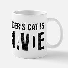 Schrodinger's cat is dead / alive. Mugs