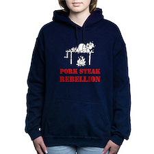 Pork Steak Rebellion Women's Hooded Sweatshirt