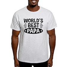 World's Best Papa T-Shirt