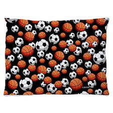 Basketball & Soccer Dog Bed