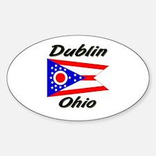 Dublin Ohio Oval Decal