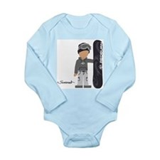 Cute Christianity Long Sleeve Infant Bodysuit